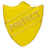 ShieldBadge Prefect Yellow</br>SB013Y